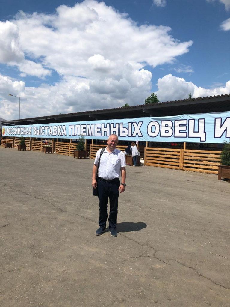 Минводский комбикормовый завод на выставке племенных овец и коз в Астраханской области